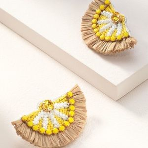 Stella & Dot Jewelry - Reserved Lemon Earrings @teddypug4
